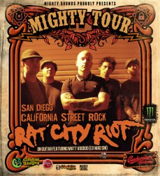 Mighty Warm Up + Rat City Riot Mighty Bomb Vendetta Attack Tour